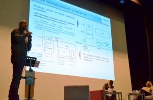 Conférence Février 2013 sur le Foyer Connecté avec Laurent Michaud (IDATE) et Olivier Carmona (AWOX).